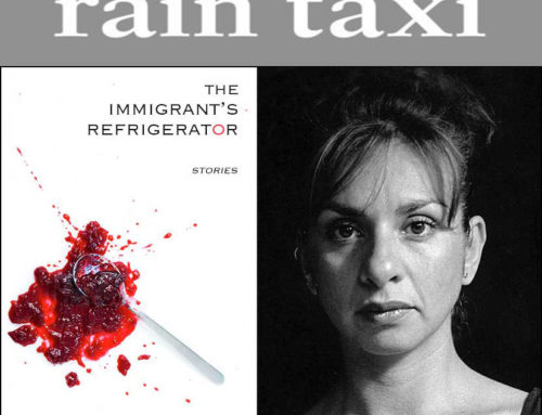 "Elena Georgiou's ""The Immigrant's Refrigerator"" reviewed in Rain Taxi"